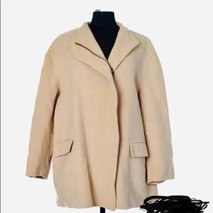 ARMANI (Giorgio) medium thickness coat xl